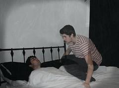 Last Night I Watched Myself Sleeping (LukeKLHR) Tags: selfportrait sleep ghost vignette astralprojection