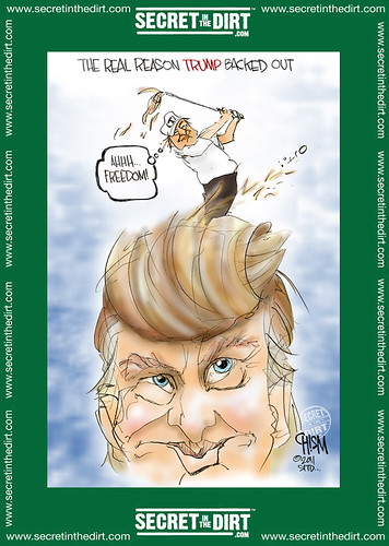 Trump Rather Be Golfing