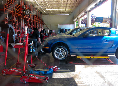 fast repair at american tire by ** RCB **, on Flickr