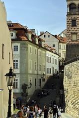 Radnice stairs, Prague May 2011 (wooiwoo) Tags: stairs prague praha praskhrad czechrepublic praguecastle 2011 radnice may2011 radnickeschody
