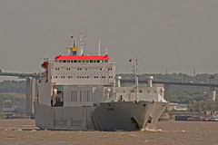 Undine (Hawkeye2011) Tags: uk boats marine ships maritime riverthames saltwater undine purfleet cobelfretferries