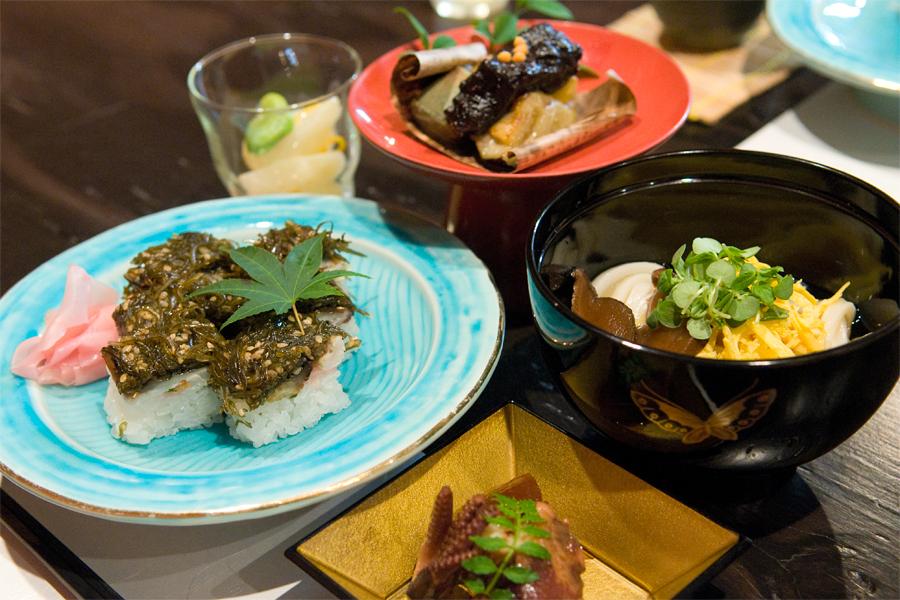 焼鯖寿司ランチ|味凌旬菜 中