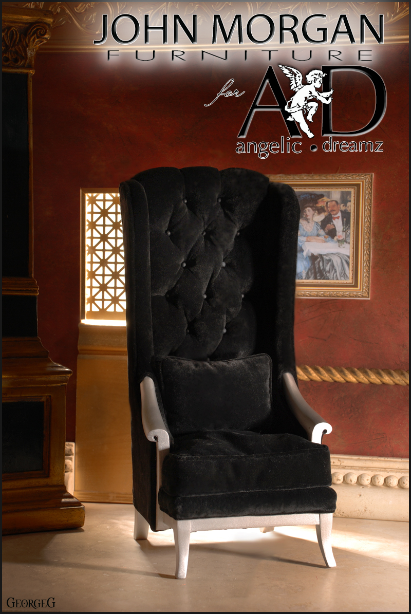 MORGAN CHAIR Black