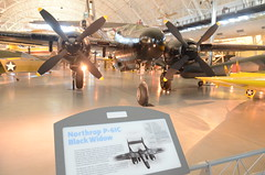 Steven F. Udvar-Hazy Center: Northrop P-61C Black Widow (Chris Devers) Tags: plane airplane virginia smithsonian starwars dulles fighter unitedstates aircraft hurricane worldwarii va blackwidow fairfax bomber radar nationalairandspacemuseum raf hawker dullesairport chantilly airandspacemuseum interceptor worldwartwo udvarhazy smithsonianinstitution stevenfudvarhazycenter northrop hawkerhurricane royalairforce arc170 p61 stevenfudvarhazy eyefi northropn1m p61c exif:exposure=0025sec140 exif:exposure_bias=13ev exif:focal_length=18mm exif:aperture=f56 northropp61c northropp61cblackwidow camera:make=nikoncorporation exif:flash=offdidnotfire northropp61 p61c1no exif:iso_speed=4000 camera:model=nikond7000 nakajimaj1n flickrstats:favorites=1 p16c exif:orientation=horizontalnormal exif:lens=18200mmf3556 exif:filename=dsc9946jpg exif:shutter_count=11460 meta:exif=1350345752