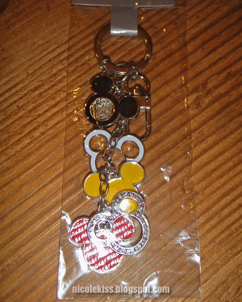 my hk disneyland keychain