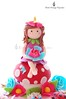 Fairy Abi! (Little Cottage Cupcakes) Tags: birthday pink flowers blue cake daisies cupcakes purple butterflies caterpillar fairy ladybird ladybug toadstool fairies magical fondant sugarpaste littlecottagecupcakes