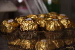 For the L.O.V.E of Chocolate ~ (Meldy) Tags: love chocolate ferrero rocher ferrerorocher