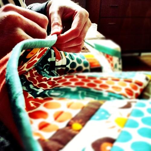 Circa60 Runner Hand Stitching Binding