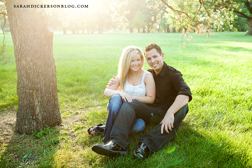 Loose Park Kansas City engagement photographers