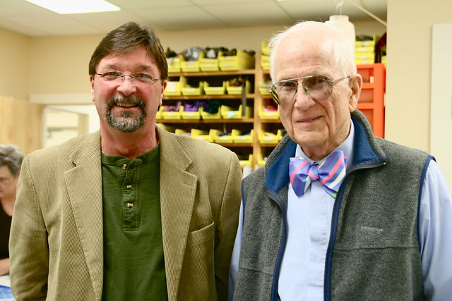 Dad with Mr. Bill Kenerson