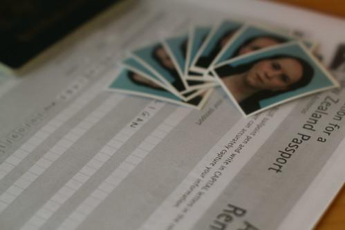 Thursday: figured I'd re-up my NZ Passport too