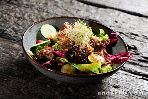 02 Soft Shell Crab Salad RM18