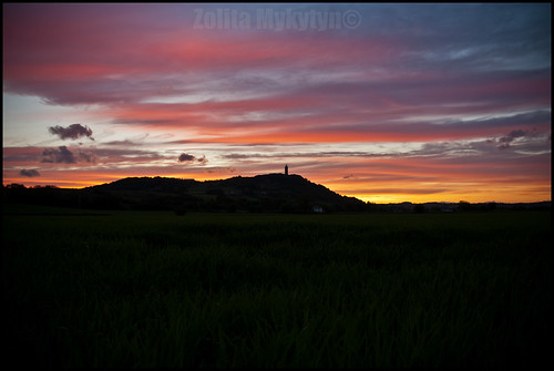 Sunset at Scrabo by xxx zos xxx