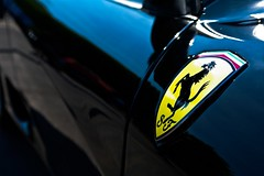 Ferrari 360 Modena (Damien.Fardel) Tags: car k emblem logo pentax d 360 ferrari voiture esplanade lille modena scuderia k20 embleme
