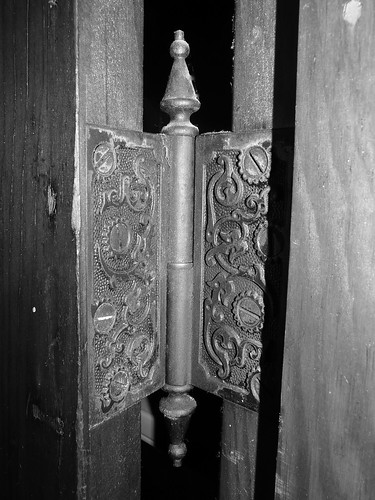 Victorian door hinge inspiration