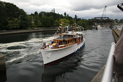 Olympus to the small lock (lg evans) Tags: classic canon boat evans nw yacht lg sound magnolia locks ballard day3 underway briarcliff 100400 18135 cya2011bellstreetrendezvous bluffpuget
