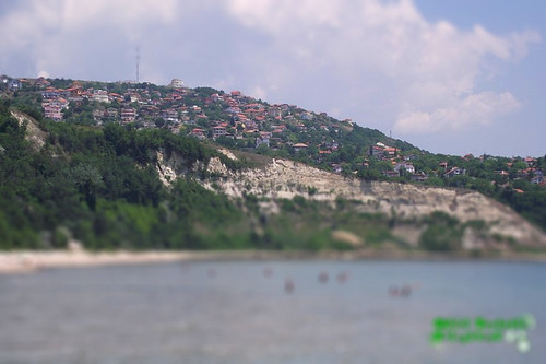 Bulgaria, Albena, înainte de intrarea în golful Balcic