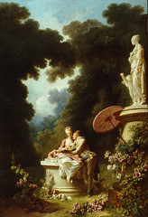 'Love Letters' (The Progress Of Love Series) Jean-Honor Fragonard, 1771-1773 (pheli) Tags: art painting 18thcentury rococo 1700s loveletters 1773 1771 jeanhonorfragonard