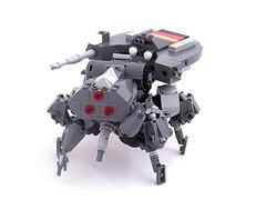 CEC Knig Krebs MBT (Mechanekton) Tags: tank lego military gits walker future scifi mbt mecha mech quadruped theghostintheshell