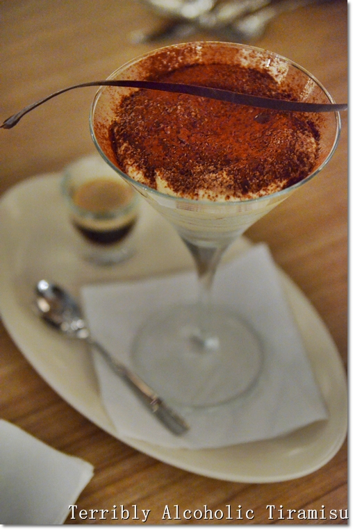 Terribly Alcoholic Tiramisu