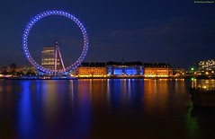 [London] Eye Candy (Richard Beech (rdb75)) Tags: longexposure bridge reflection london westminster millenniumwheel thames night canon river lights colours londoneye southbank waterloo eyecandy countyhall westminsterbridge victoriaembankment sigma1020mm 2011 richardbeech rdb75