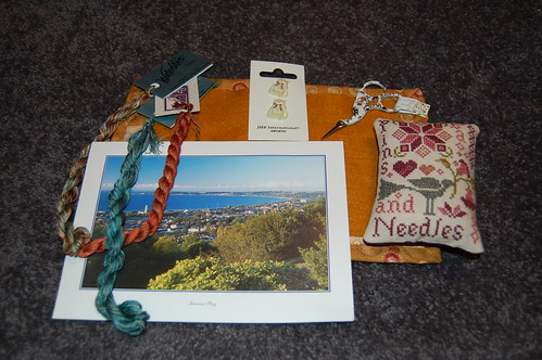 Exchange received from Sandra in Wales