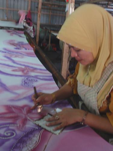 Kota Bharu modern batik