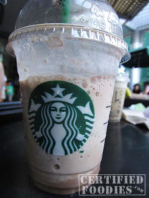 My favorite Starbucks Frap - Mocha! - CertifiedFoodies.com