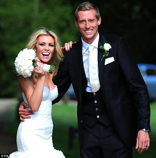 Nice day for a WAG wedding as Peter Crouch ties the knot with Abbey Clancy  6