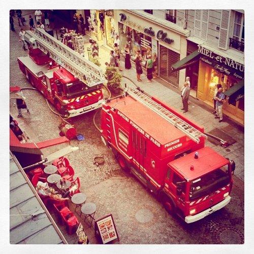 Les bals des pompiers du 13 et 14 juillet 2014 à Paris