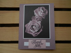 Thank you card (Thong Bartlett) Tags: scrapbook thank you card