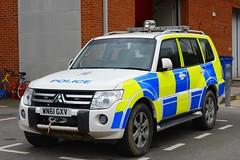 WN61 GXV (S11 AUN) Tags: cheshire police mitsubishi shogun 4x4 events planning anpr nwmpg northwestmotorwaypolicegroup traffic car rpu roads policing unit 999 emergency vehicle wn61gxv