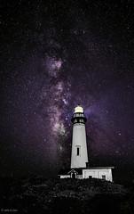 Milky Way & Lighthouse (johnrsims43) Tags: milky way milkyway coast lighthouse light house beach night dark longexposure