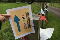 01 this way (Margaret Stranks) Tags: hiddensqu4reminifestival colnstaldwyns gloucestershire uk fundraiser charity harambeeschoolskenya