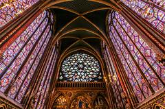 Sainte Chapelle (rebecca_e_johnson) Tags: paris saintechapelle chapelle sainte window windows glass stainedglass royal chapel royalchapel gothic architecture light colourful colour france