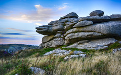 Granite Outcrop (Nick.Richards) Tags: trencromhill cornwall cornish hill countryside granite stone outcrop hillfort ancient nationaltrust nikon nikon1685 nickrichards nikond7100 nikefex d7100 lightroom landscape