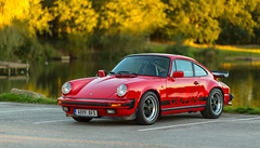 Autumn Has Arrived (kevaruka) Tags: porsche 911 club gb coopers arms derbyshire 911r carrera 32 2016 1983 countryside colour colours dusk england red guards india white classic car sports cars exotic performance timeless sunset twilight october autumn shade shadows composition canon eos 5d mk3 70200 f28 is mk2 ef24105f4l 5d3 5diii flickr front page thephotographyblog ilobsterit stock green outdoor vehicle