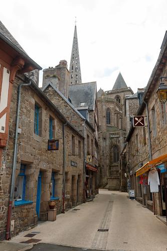 Rue Ernest Renan à Tréguier