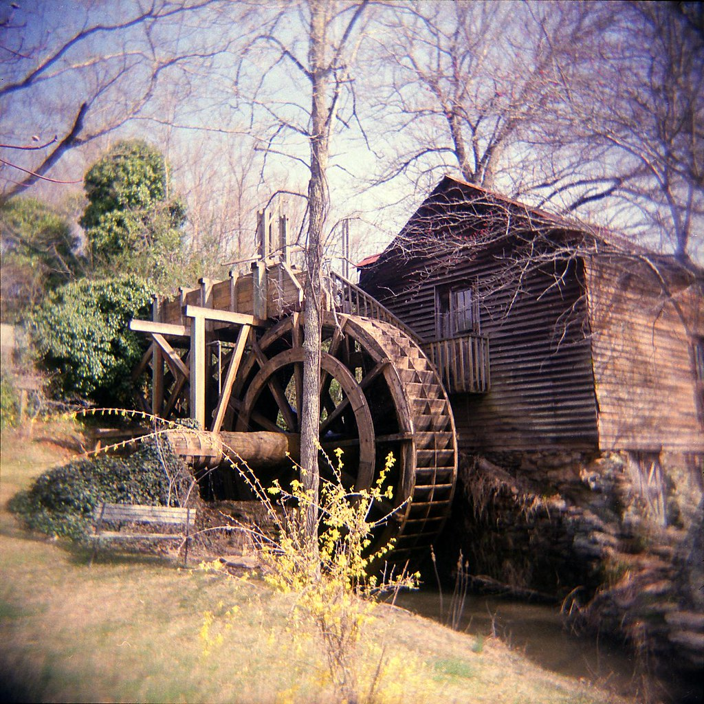 Water wheel at Johnson Mill