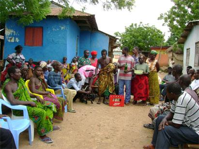 Fieldwork in Ghana