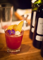 Flor de Noche (Jeremy Brooks) Tags: sanfrancisco california usa restaurant drink cocktail booze tres soma sanfranciscocounty thebattleofthetequileros