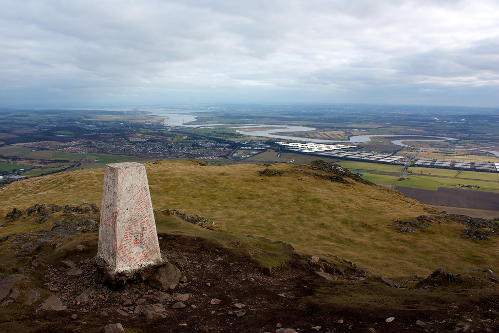 Trig point on Dumyat