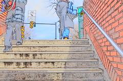 Les Marches (eileansiar) Tags: cambridge color subway square lens sketch spring nikon postcard harvard line tokina exit 1224mm 2011 eileansiar d7000