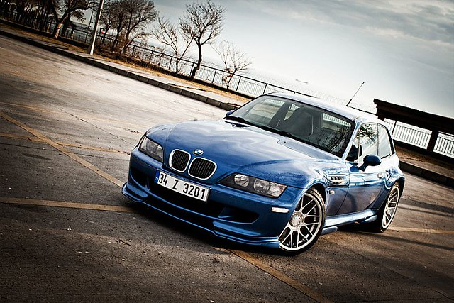 Estoril Blue BMW M Coupe