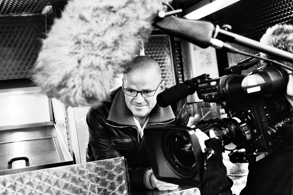 Heston Blumenthal - Olympus Om2n - Kodak T-Max