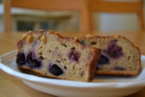 Whole Wheat Blueberry Bread | Trainer Momma