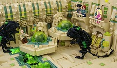Nest (Bart De Dobbelaer) Tags: lego space hex diorama
