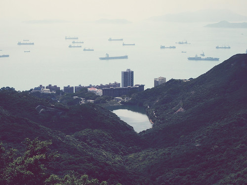 Hong Kong's bay