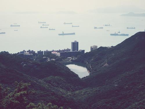 Hong Kong's bay