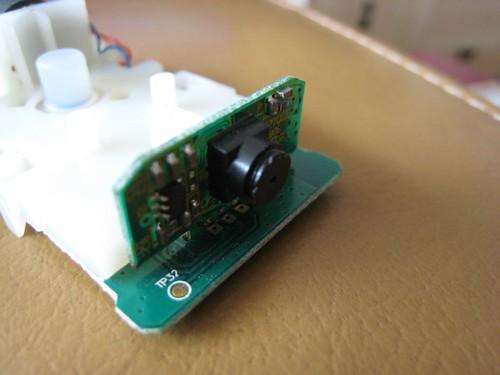 Strange Wiimote Camera on a daughter board